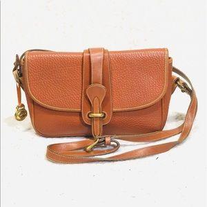 Vintage Dooney & Bourke Crossbody Camel Color Bag